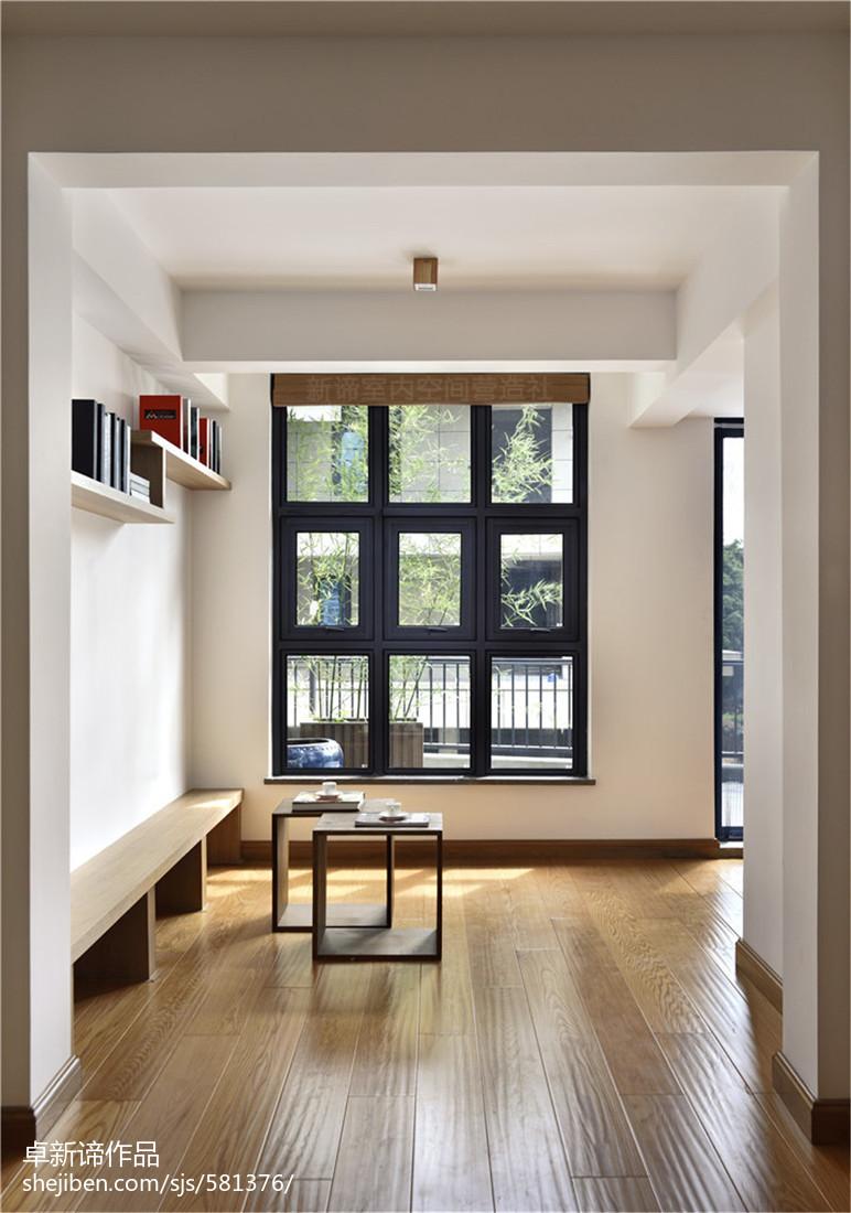 日式别墅玄关设计图玄关木地板日式玄关设计图片赏析
