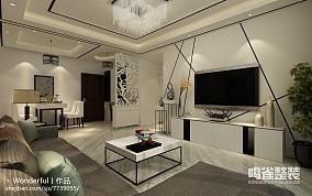 现代时尚豪华别墅客厅