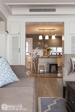 热门125平米四居厨房美式装饰图片