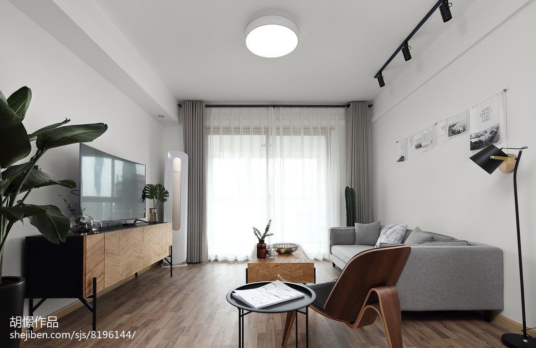 热门80平米北欧小户型客厅装修实景图客厅2图北欧极简客厅设计图片赏析