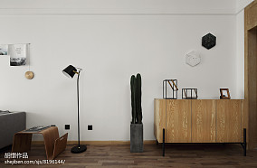 平米北欧小户型玄关实景图片大全一居北欧极简家装装修案例效果图