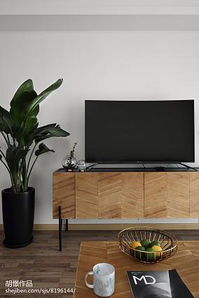 精选北欧小户型客厅装修图片一居北欧极简家装装修案例效果图