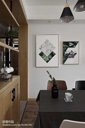 热门小户型餐厅北欧装修图片欣赏一居北欧极简家装装修案例效果图
