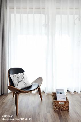 热门82平米北欧小户型客厅装修设计效果图片欣赏一居北欧极简家装装修案例效果图