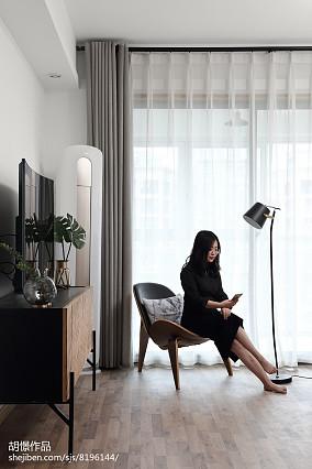 热门小户型客厅北欧装修欣赏图片大全一居北欧极简家装装修案例效果图