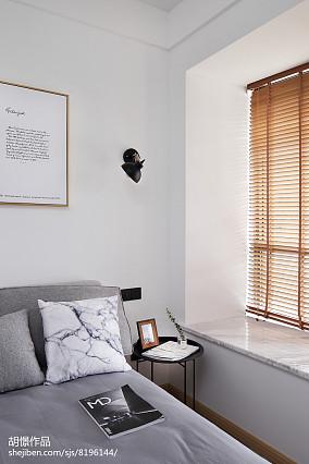 热门小户型卧室北欧实景图片大全一居北欧极简家装装修案例效果图
