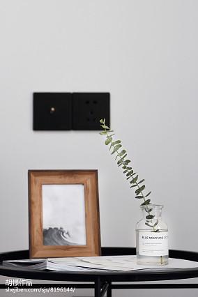 精选小户型卧室北欧装修欣赏图片大全一居北欧极简家装装修案例效果图