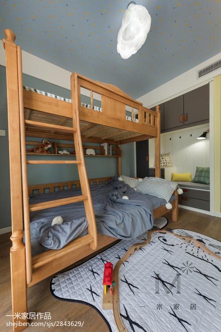 2018精选北欧三居儿童房装修设计效果图片