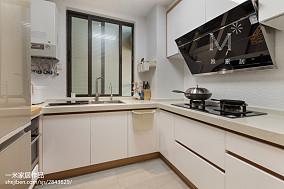 2018精选北欧三居厨房装修图片欣赏81-100m²三居家装装修案例效果图