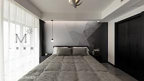 热门94平米三居卧室简约欣赏图