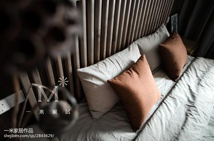 2018精选100平米三居卧室中式装修图片
