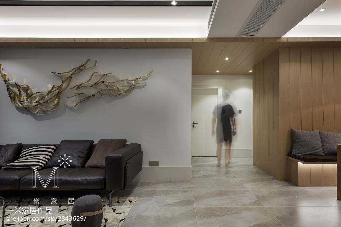 精选90平米三居客厅现代效果图客厅