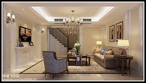精选143平米新古典复式客厅实景图片欣赏