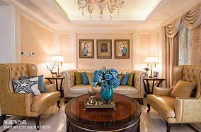热门117平米新古典复式客厅装修效果图