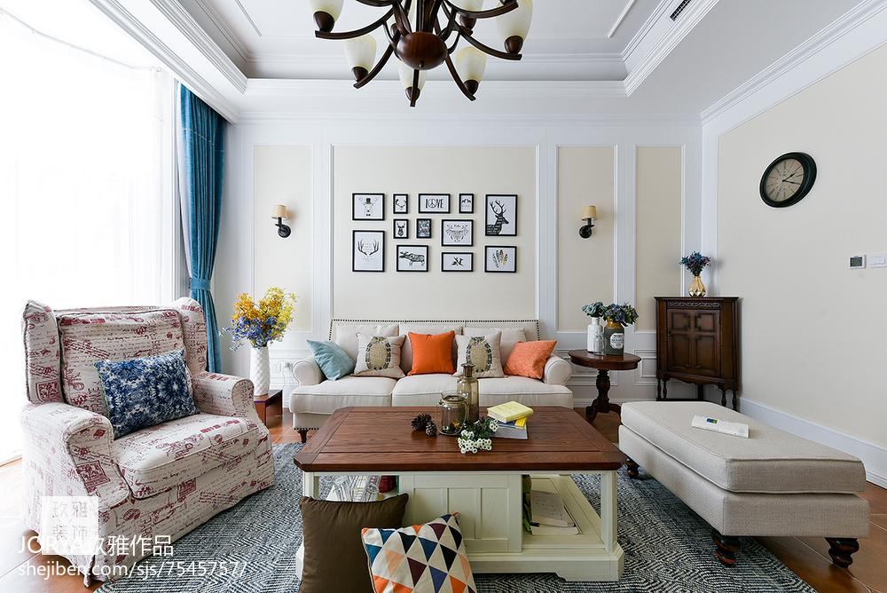 普通美式三居客厅设计图片客厅美式经典客厅设计图片赏析