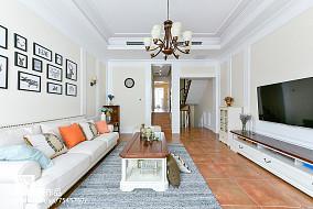 大小97平美式三居客厅装修图片