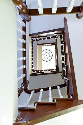 质朴128平美式三居装饰图片三居美式经典家装装修案例效果图