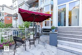 复古美式三居休闲区设计图三居美式经典家装装修案例效果图