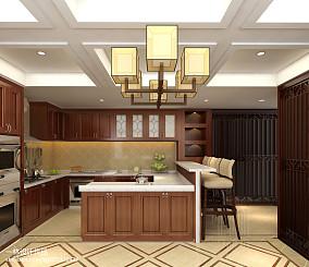 日式家居厨房设计装修效果图