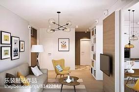 精美面积85平小户型客厅简约装饰图片大全