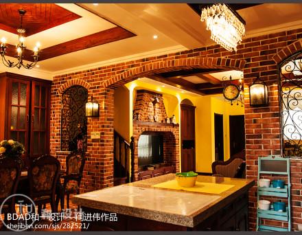 龙湖别墅厨房