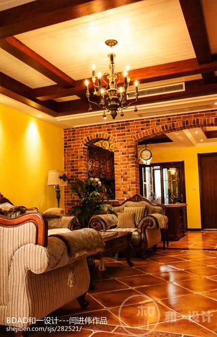 龙湖别墅客厅4图