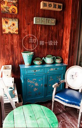 龙湖别墅阳台美式经典设计图片赏析