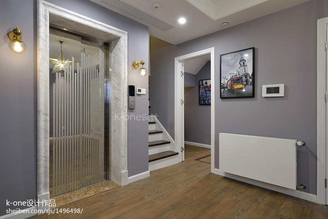 美式别墅地下室设计效果图