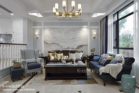 美式别墅客厅设计图
