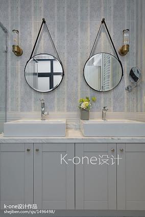 精选135平米美式别墅卫生间效果图片欣赏