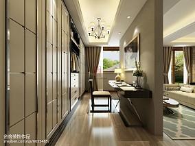 日式别墅走廊装修效果图
