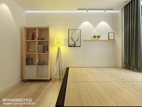 精选124平米简约复式卧室装修实景图片