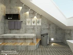 精选面积123平复式卫生间简约装修实景图片