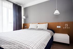 2018精选83平米二居卧室现代装饰图片
