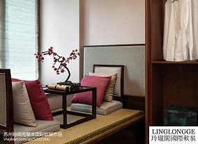 78平米混搭风格一居室装修效果图大全2014图片