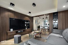精美109平米三居客厅北欧装修设计效果图片大全