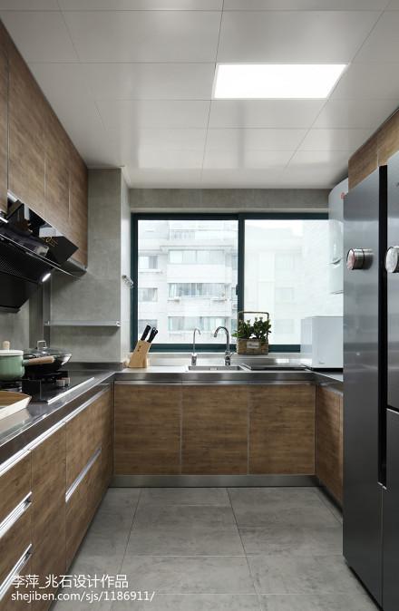 简单北欧风三居厨房设计图餐厅