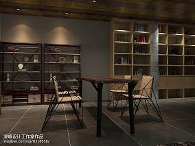 2018面积119平复式餐厅装修设计效果图片欣赏