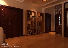 小公寓客厅与厨房隔断装修效果图