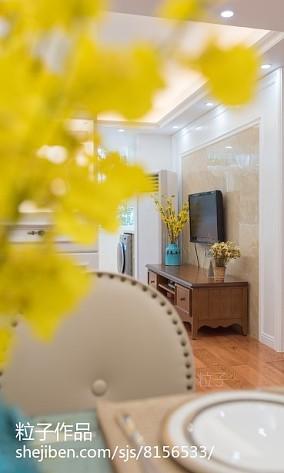 小公寓客厅色彩装修效果图