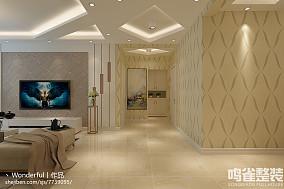 90平米两室一厅室内设计图