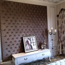 质朴208平法式别墅卧室效果图欣赏