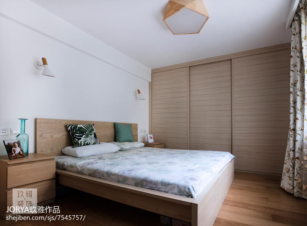 简约欧式二居卧室设计图卧室欧式豪华卧室设计图片赏析