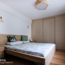 简约欧式二居卧室设计图