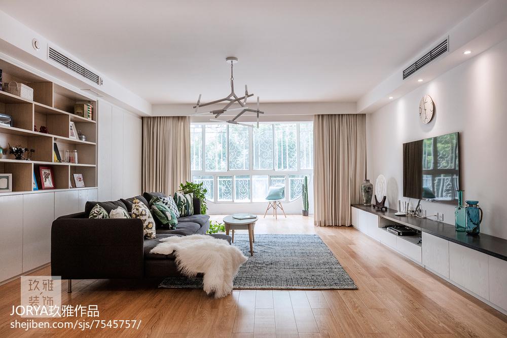 温馨63平欧式二居装饰图片客厅欧式豪华客厅设计图片赏析
