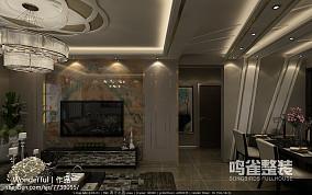 美式婚房卧室装修效果图2014