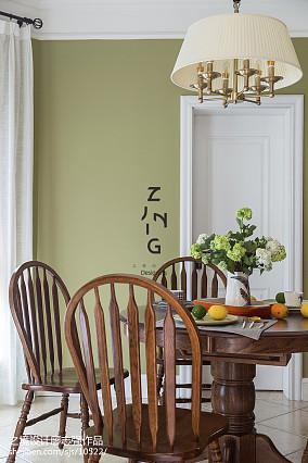 特色美式四居餐厅设计图厨房美式经典设计图片赏析