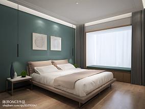 大小109平现代三居卧室效果图片欣赏