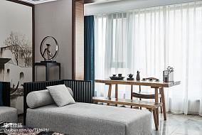 热门面积122平现代四居休闲区装修效果图片大全