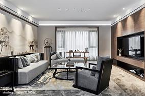 121平米四居客厅现代实景图片欣赏